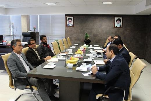 برگزاری جلسه با مدیران بانک مسکن استان