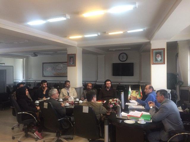 جلسه با مدیر کل سازمان مالیاتی استان